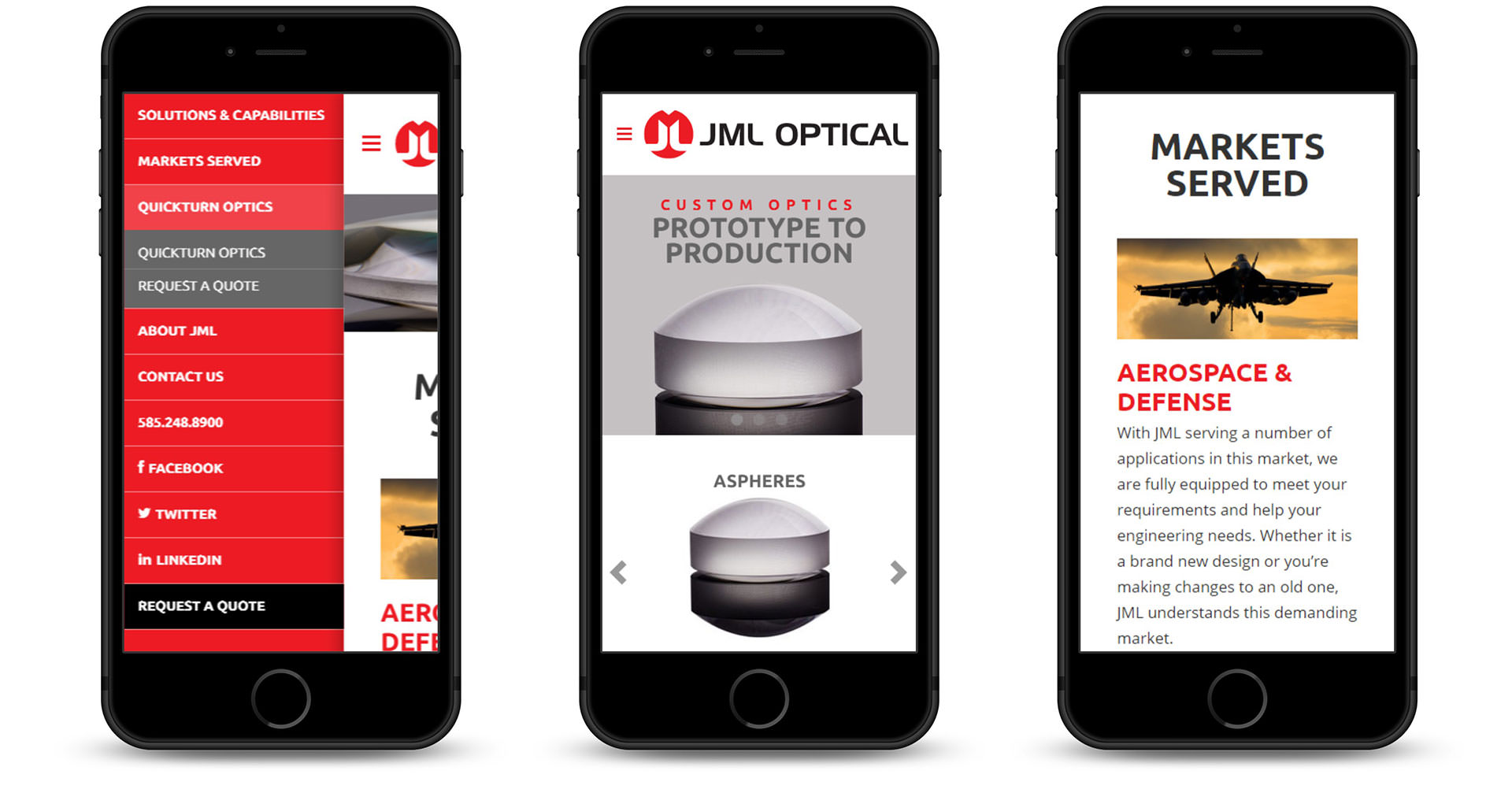 JML Optical optimized for mobile responsiveness.
