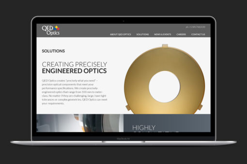 QED Optics Home